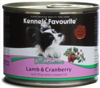 Консервы Kennels` Favourite Lamb & Cranberry Ягненок и Брусника для собак 200 гр