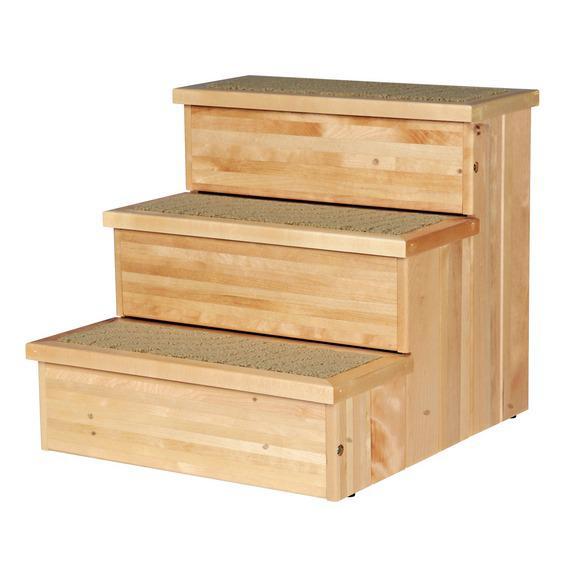 Лесенка для собак, 40 = 38 = 45 см, деревянная / Зоо Товары для собак / Мягкие места / Аксессуары / Интернет Магазин Зоотоваров